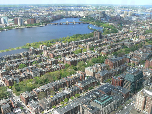photo of Back Bay filled in during the 1880\'s using Otis Steam Shovels, invented in Canton Ma