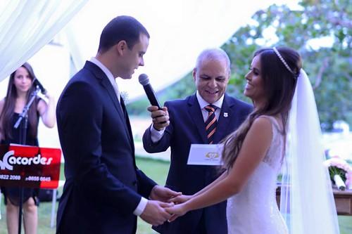 Carlos Souto ministrou a cerimônia