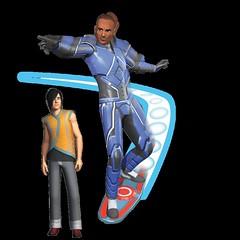 Les Sims 3 en route vers le futur render