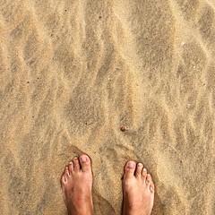 The End #puntaumbria #beach #playa #arena #sand #feet #pied #theend