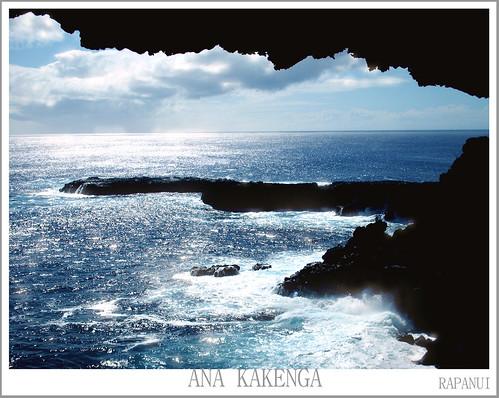 RAPANUI + ana kakenga cave + the other window