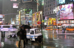 Raining on the NYPD's 'souped up street sweeper'