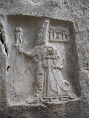 Hittite Rock Relief, Turkey by Willis Monroe
