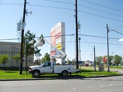 Telecommunications Repair Truck