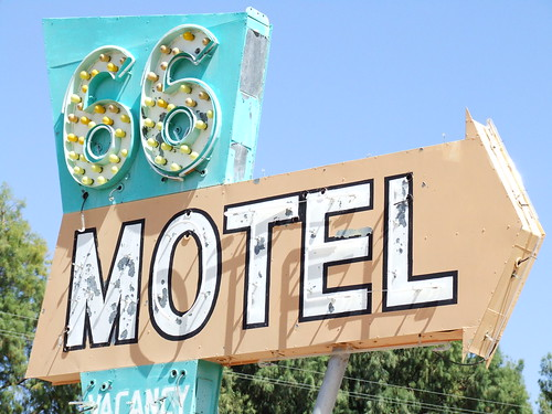 """66 Motel"" by Curtis Gregory Perry"