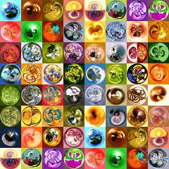 Amazing Circles Collage