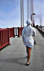 Edie walks