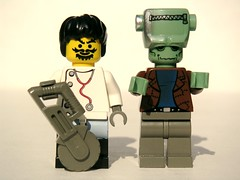 Dr. Frankenstein and His Monster
