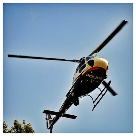 """Police Helicopter • <a style=""""font-size:0.8em;"""" href=""""http://www.flickr.com/photos/150185675@N05/31291473410/"""" target=""""_blank"""">View on Flickr</a>"""
