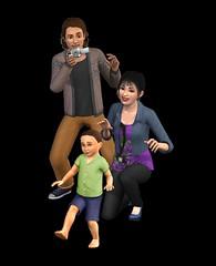 Les Sims 3 Génération render