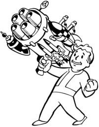 fallout line art