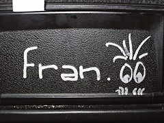 Fran tiene caspa...