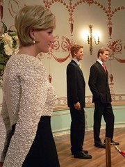 A proud mother watches from afar as Prince Wil...