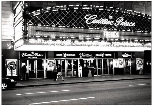 Cadillac Palace BW