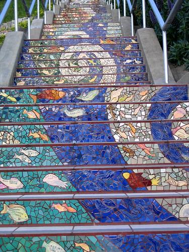 Charming Mosaic Stairway To Heaven U2013 San Francisco U2013 Golden Gate Heights