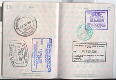 passport pages 16-17