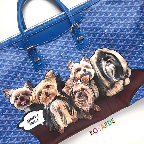 Goyard Dogs Fabiana Ecclestone copy