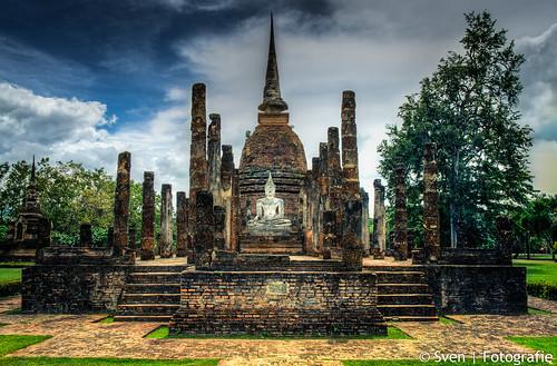 Wat Sa Si in Sukhothai