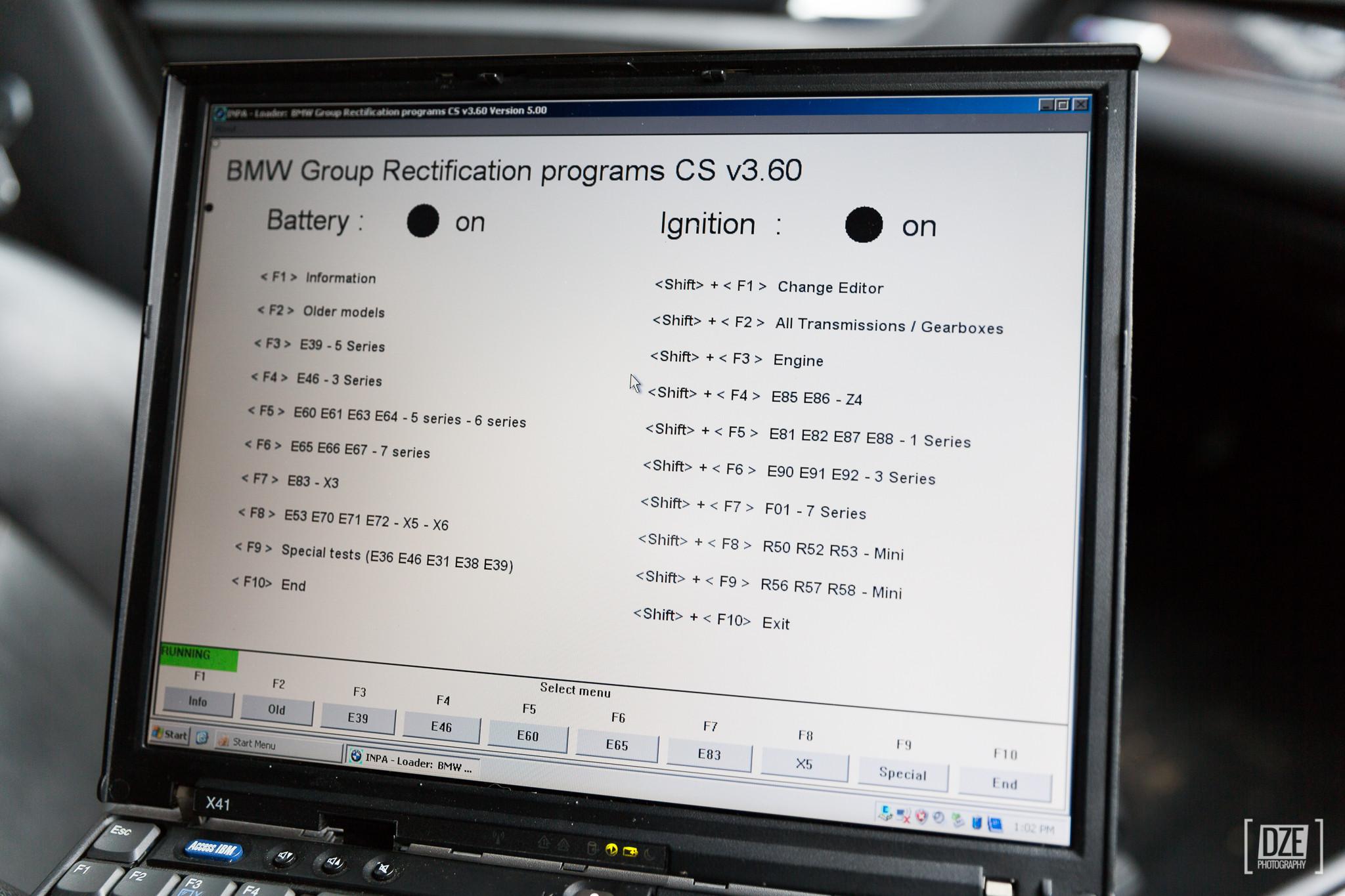 Bmw cic coding options