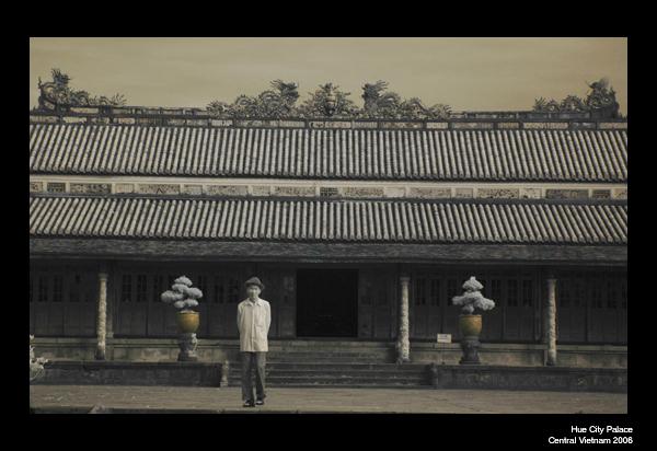 Entrance Hue City Palace