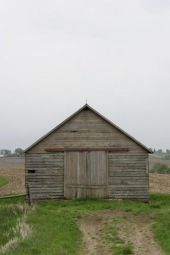 Untitled [Crib, North elevation, East central Iowa]