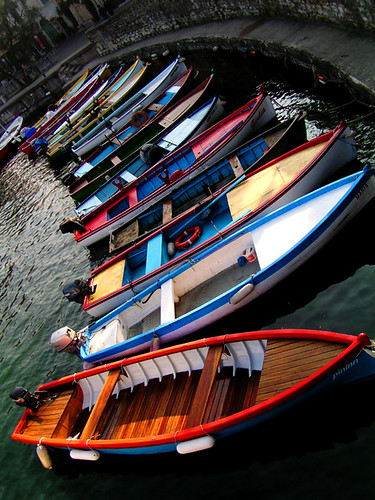 Boats - Garda Lake, Italy