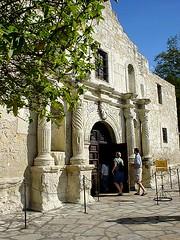The Alamo, facade