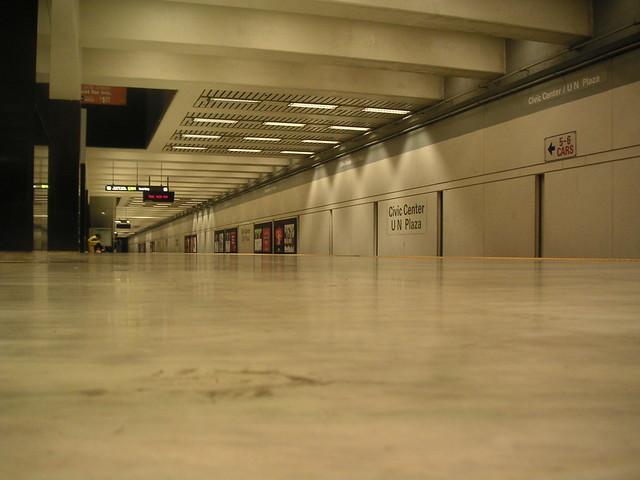 Civic Center BART station