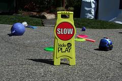 SLOW kids at play