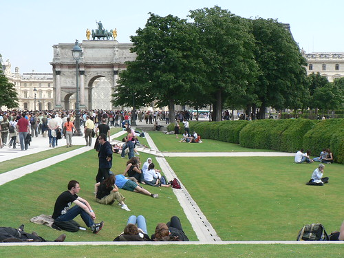 A view of the Tuileries gardens (by Claudecf)