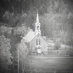St. Ann's Church B&W