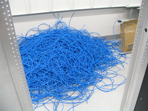 Snipped Ethernet © by GlennFleishman used under Creative Commons license. : ethernet through house wiring - yogabreezes.com