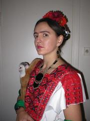 Davina as Frida