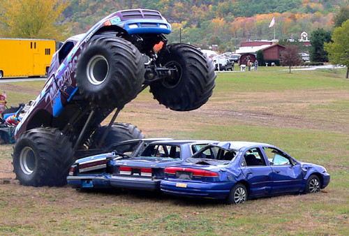 Monster Truck Show by quick5pnt0.
