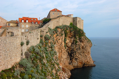 City Wall and the Adriatic Sea, Dubrovnik