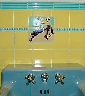 Bucking Bronco sink