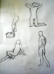 Basic Figure Drawing Class 3: #1