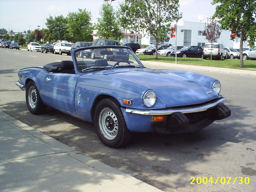My ExCars 1974 Triumph Spitfire 1500