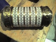 Davinci code cryptex