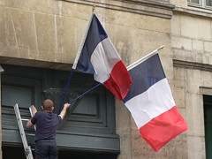 Removing the flag