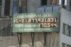 NYC: National Debt Clock