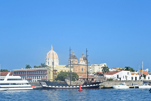 From Pegasos Docks (Cartagena - Colombia)