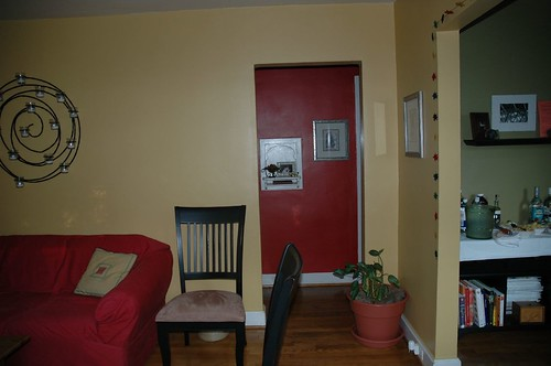 Hot Hallway Color