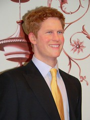 Prince Harry at Madame Tussauds in London