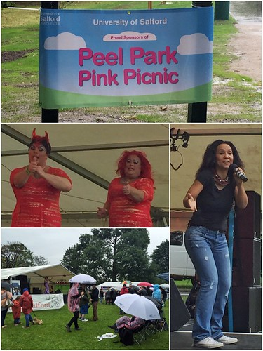 Today is all about...Peel Park Pink Picnic