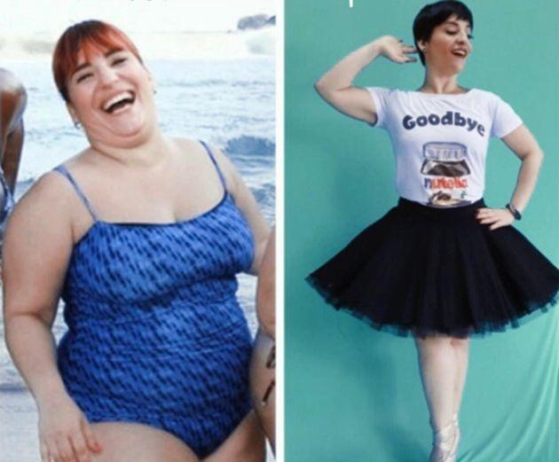 Após perder mais de 40 kg, Simone Gutierrez sensualiza de biquíni