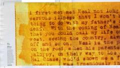 Jack Kerouac Manuscript Photo in San Francisco...