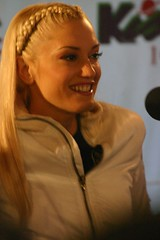 Gwen Stefani Close and Personal