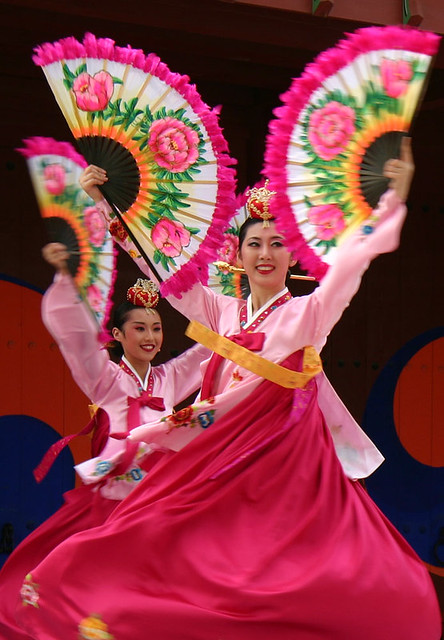 Suwon Korean dance performance  Suwon South Korea