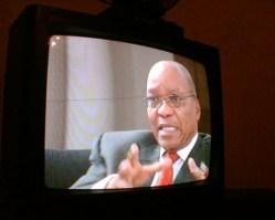 Jacob Zuma in an interview so harmlessly presented, he might as well have just addressed the nation da Gregor Rohrig.